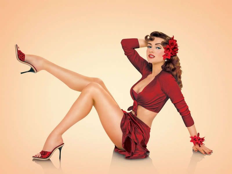 Pin-up girls pic 88