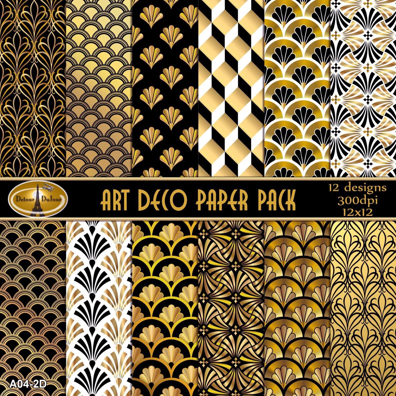 Popular items for art deco design on etsy
