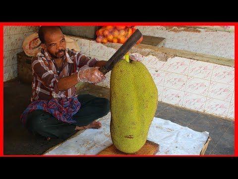 FRUIT NINJA of FRUITS | Amazing Fruits Cutting Skills | Indian Street Food In 20…