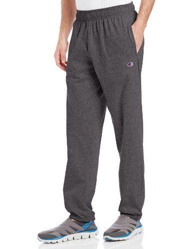Champion Authentic Men/'s Athletic Pants Light Weight Jersey Sweatpants Workout