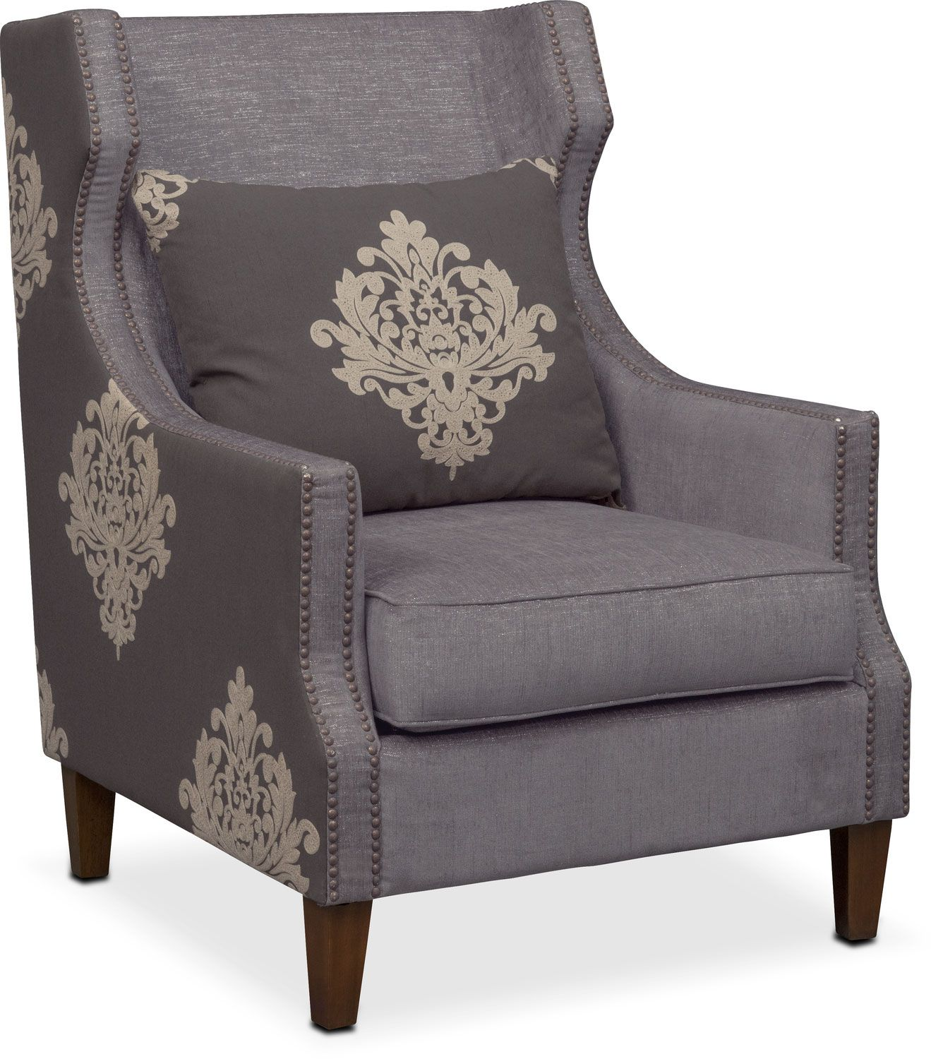 Delightful Damask Sophisticated And Refined The Dynasty Accent