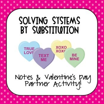 Systems of Equations Notes  Partner Coloring Activity