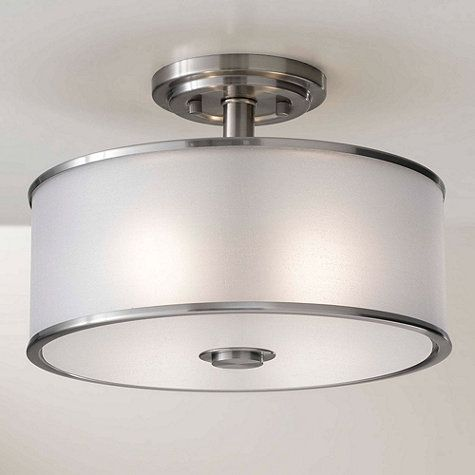 Feiss casual luxury semi flush mount lighting s
