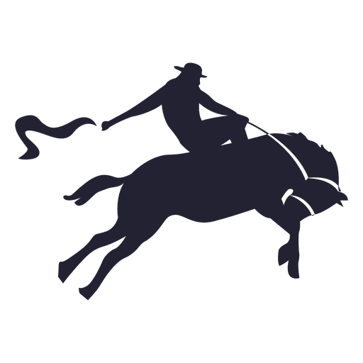Rodeo Cowboy Silhouette Ad Sponsored Paid Silhouette Cowboy Rodeo Art Silhouette Png Black And White