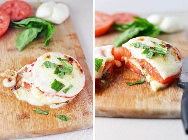 Grilled Caprese | 3 Ways to Make a Bread-Free Grilled Cheese