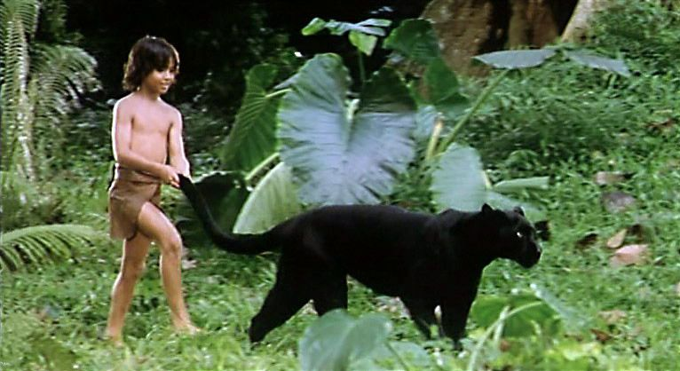 the second jungle book mowgli and baloo | Mowgli with