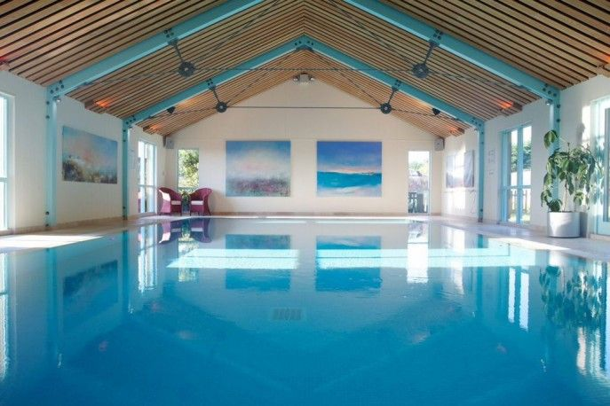 Swimming Pool Residential Indoor Pool Ideas Swimming In A Beauty Simple Large Residential Indoor Pool Design Indoor Swimming Pool Design Swimming Pool Designs