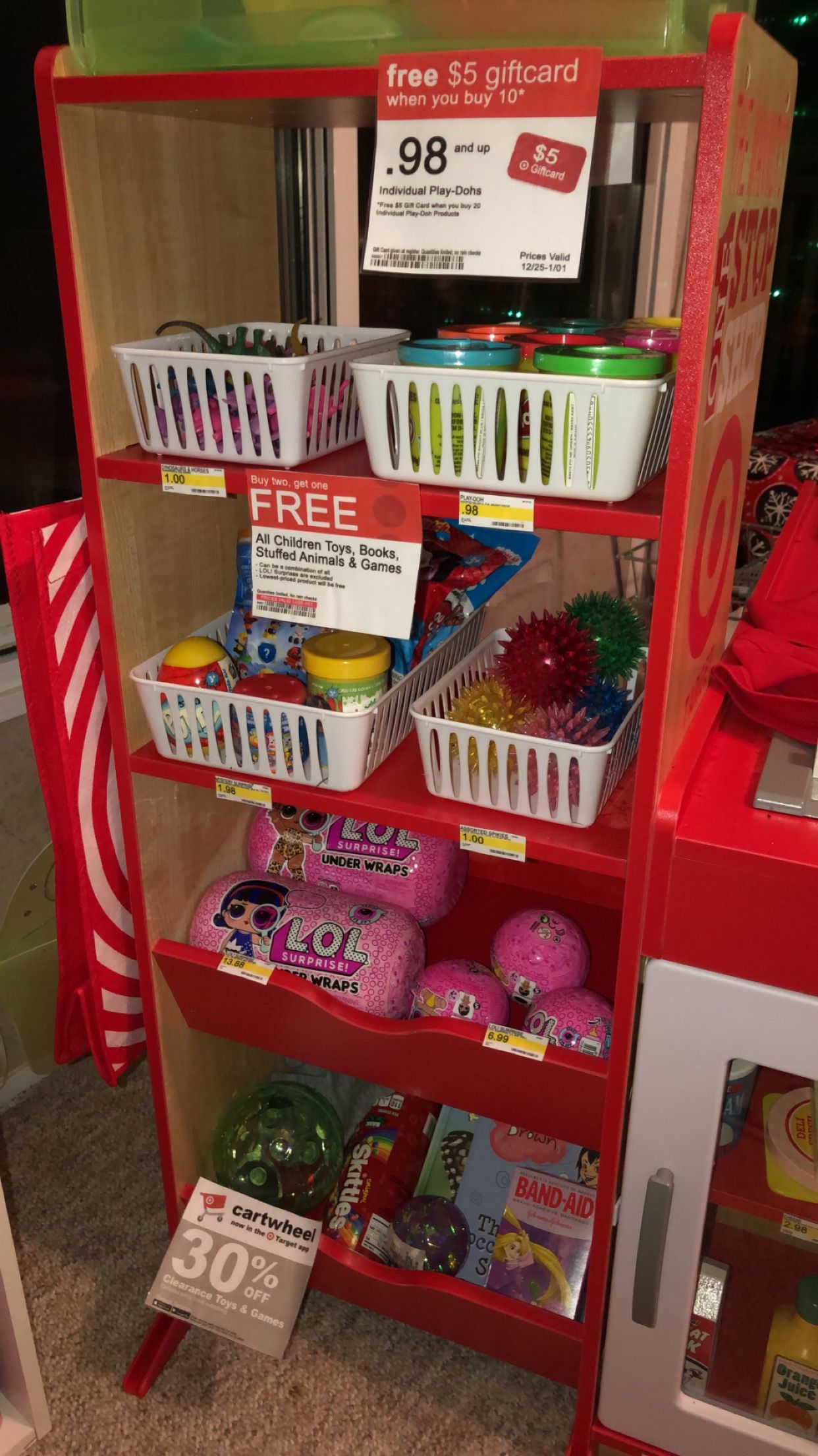 Target store for my little Target obsessed shopper! Here's