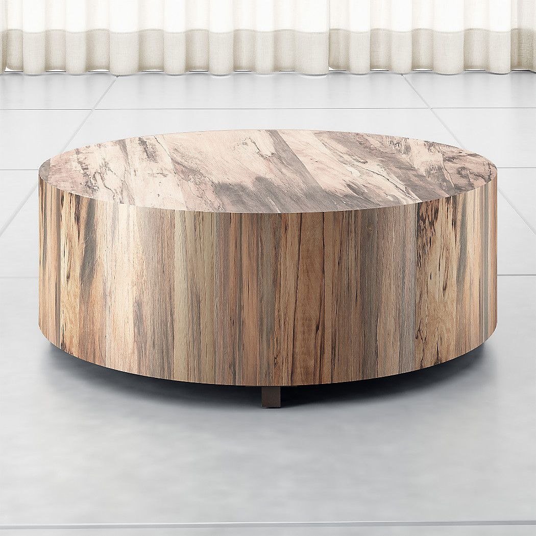 Dillon Spalted Primavera Round Wood Coffee Table Reviews Crate And Barrel Round Wood Coffee Table Coffee Table Wood Large Coffee Tables [ 1050 x 1050 Pixel ]