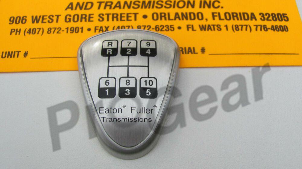 eBay #Sponsored Eaton Fuller 10 speed transmission shift
