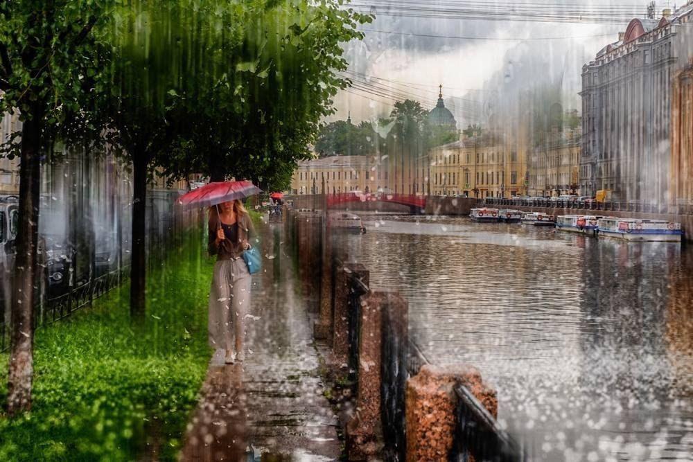 Картинки летний дождь в городе
