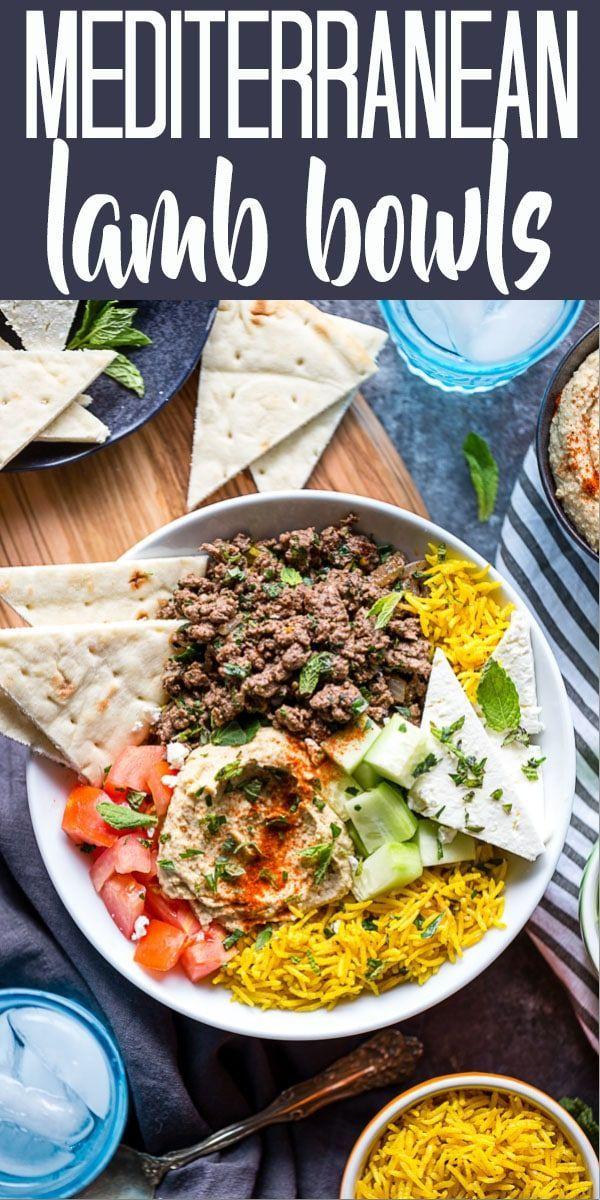 Mediterranean Lamb Bowls Mediterranean Lamb Bowls Dinner Recipes lamb recipes