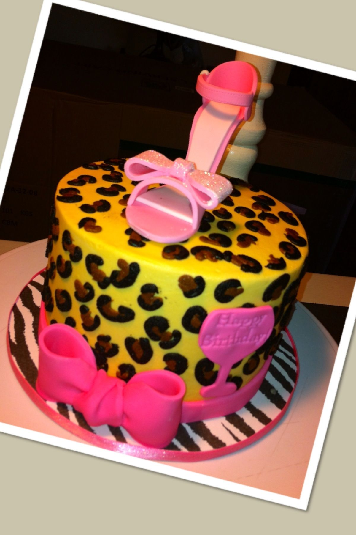 Happy birthday newly divorcee with this cute stiletto
