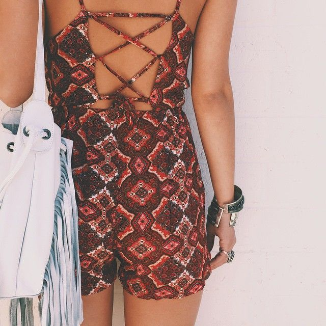 look back at it  #fashion #style #outfit #clothes #bohemian,