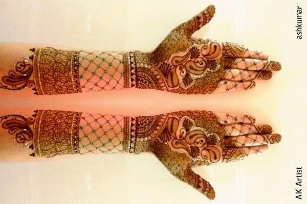 Mehndi Designs Churidar : Indian mehndi designs for christmas pretty