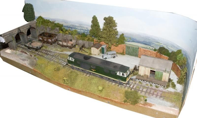 Micro O Gauge Layout By Marc Smith 339 6quot Long H0