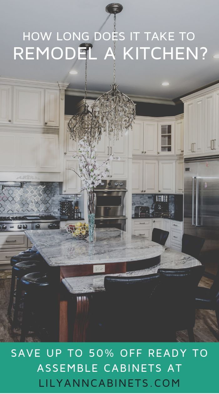 how long does it take to remodel a kitchen full kitchen remodel kitchen diy makeover diy on kitchen remodel timeline id=86840