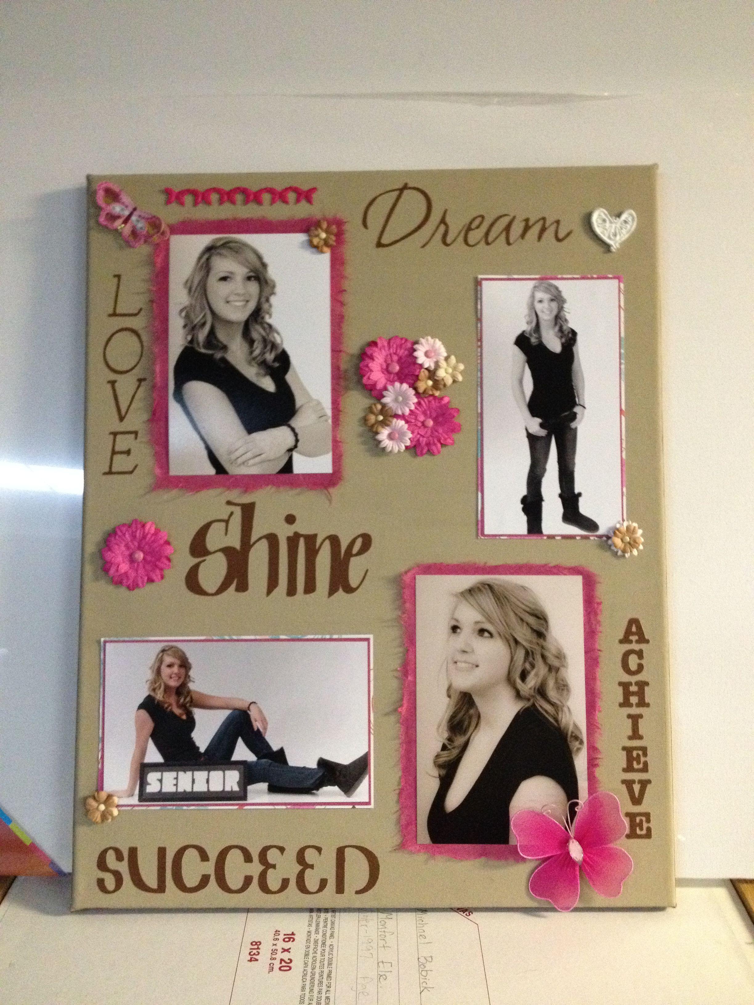 Graduation scrapbook ideas pinterest - Graduation Scrapbook Plaque