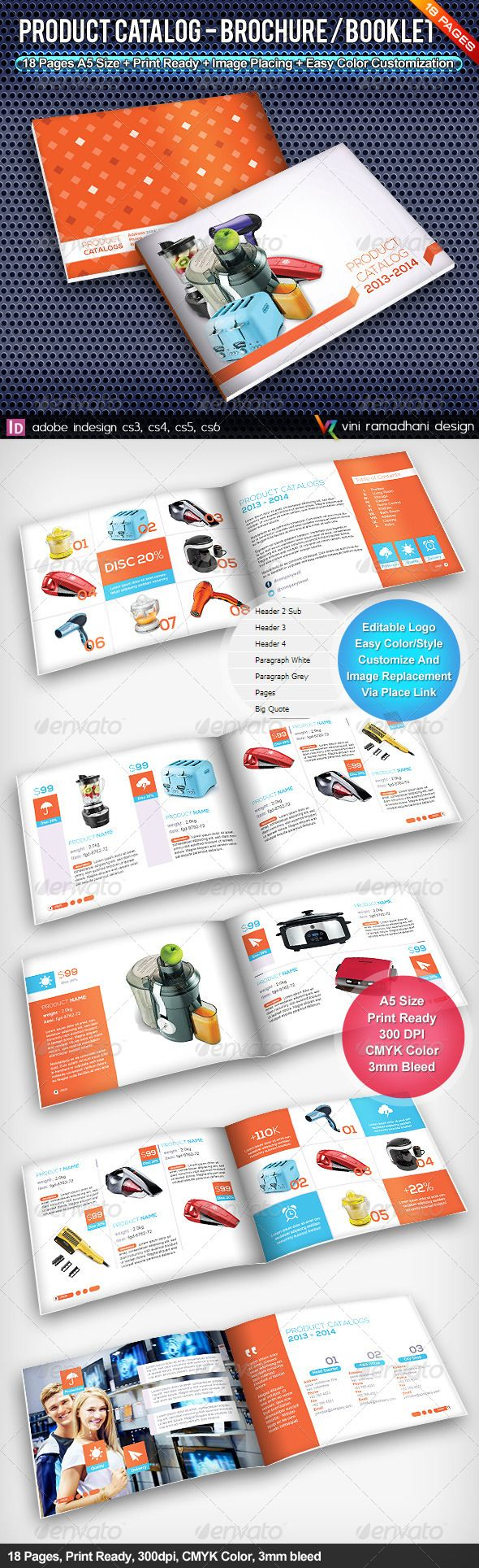 Product Catalogs Brochure Or Booklet  Product Catalog Brochures