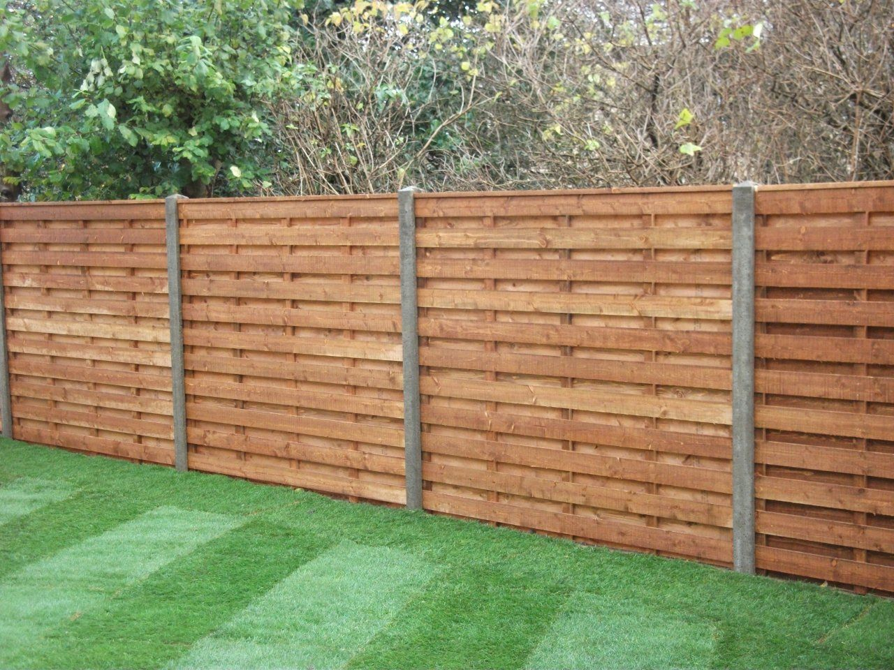 Best Concrete Fence Panels Ideas On Pinterest Modern Fencing - 5 backyard fence types