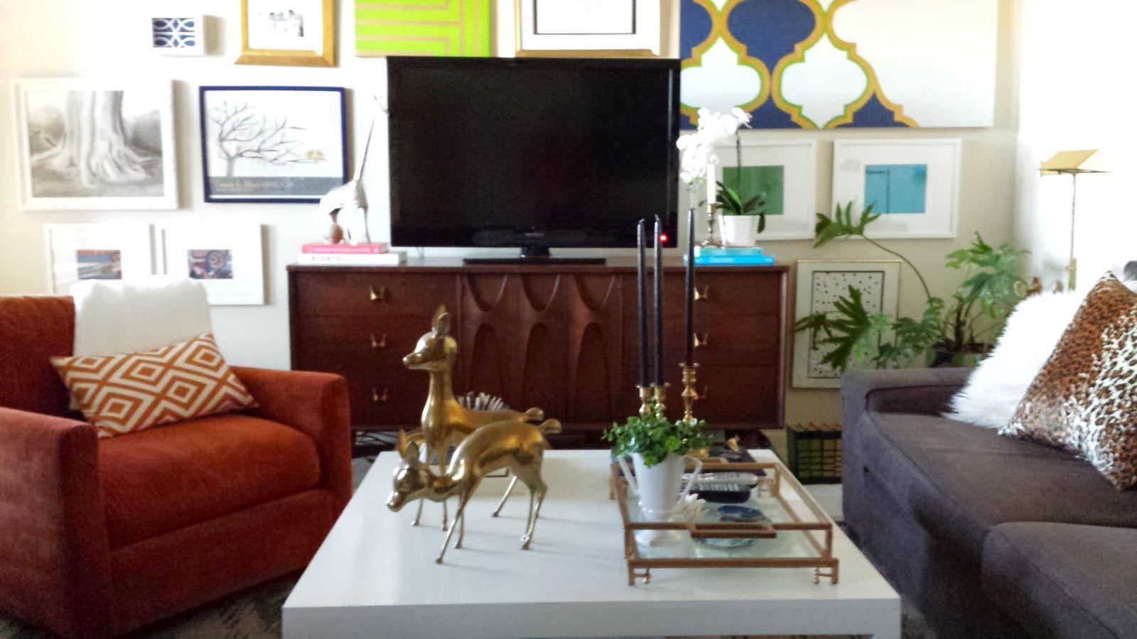 Living Room; Broyhill Brazilia Credenza