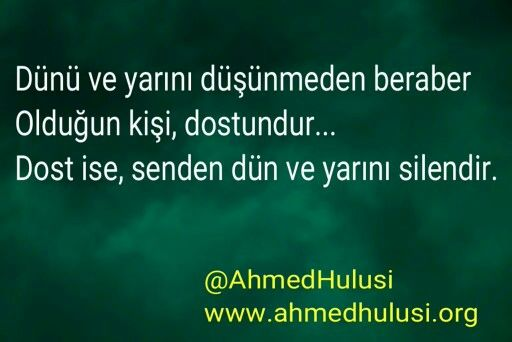 Dost ise. .