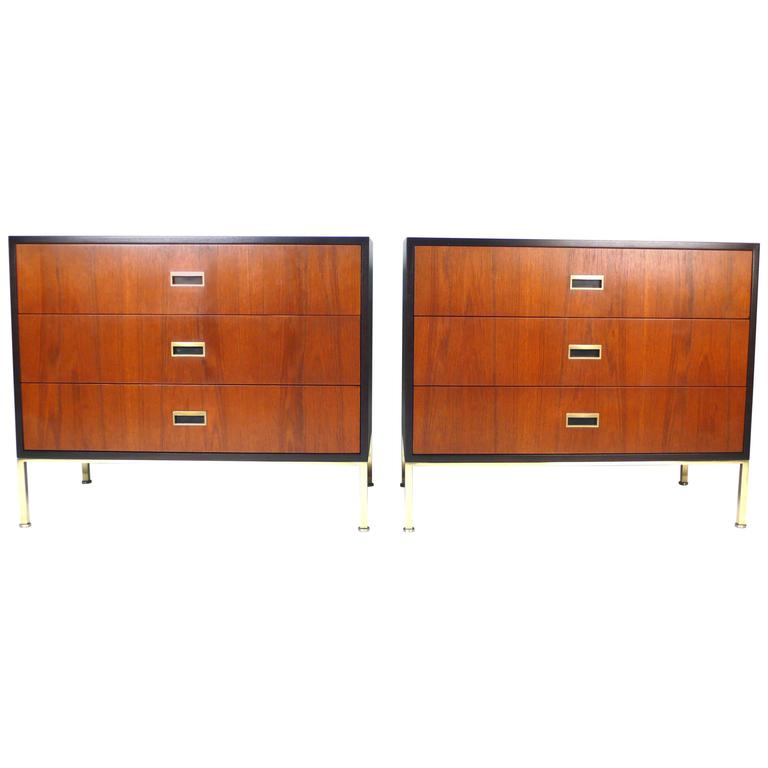 French Empire Style Mahogany Chest of Drawers, circa 1920s