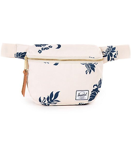 fbb5735c443 Herschel Supply Co. Fifteen Tropical Floral Canvas 2L Fanny Pack in ...