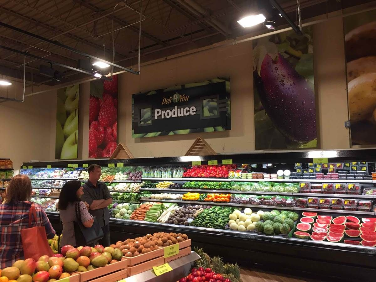 Grocery Store Interior Signage