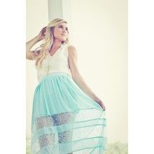 In The Window Skirt-Mint