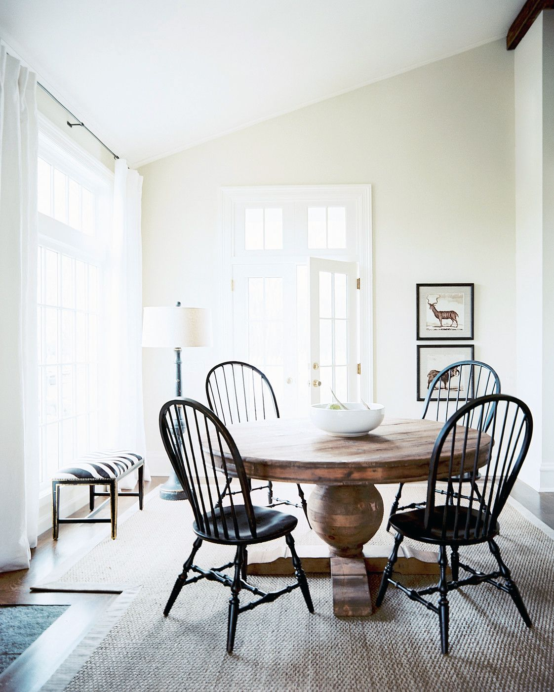 High Low Roundup Round Pedestal Dining Tables Coco Kelley
