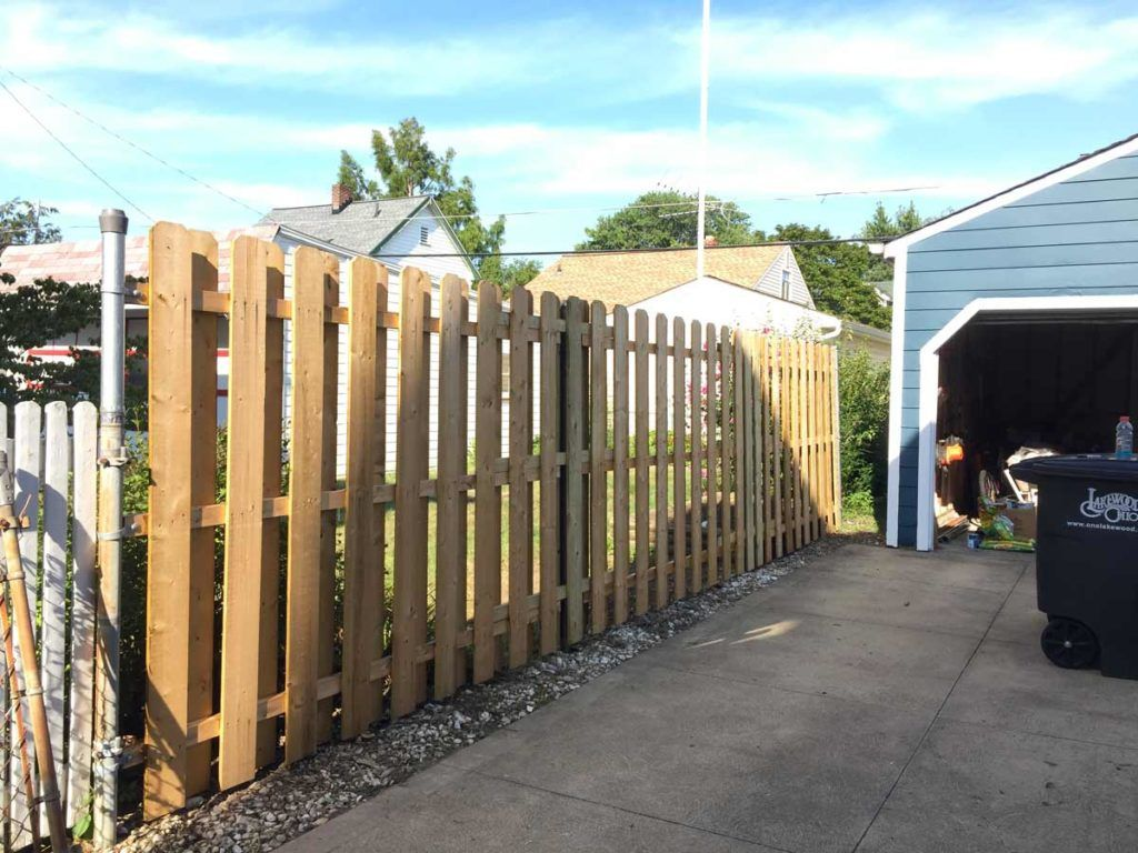 How To Convert A Chainlink Fence To A Wood Fence Fence