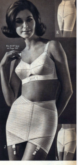 Original 1942 Print Ad Munsingwear Foundettes Girdle Bra Undergarments Art Colours Are Striking Advertising