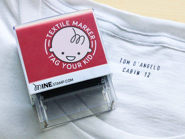 Minestamp Personalized Label Stamp With Images Kids Clothing