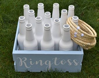 Ring Toss Ringtoss Personalized Customized Rose Gold Wedding Over sized Big Outdoor Wedding Yard Lawn Game is part of lawn Games Children - TheDutchGoldfinch
