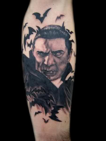 bela lugosi tattoos | Bela Lugosi Tattoos | Vampire tattoo ...