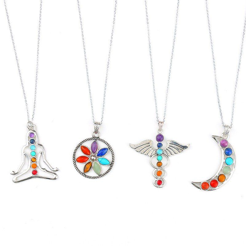 Free chakra balancing pendant necklaces jewelery pinterest free chakra balancing pendant necklaces mozeypictures Image collections