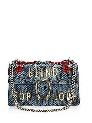 Gucci Dionysus Blind For Love Embroidered Snakeskin Shoulder Bag ... 73ddc20cb48