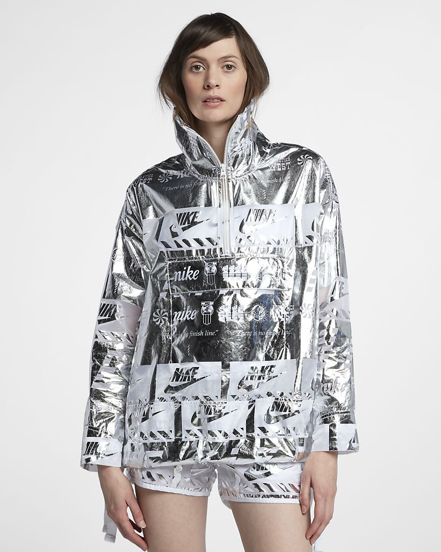 Nike Sportswear Metallic Women's Jacket Jackets
