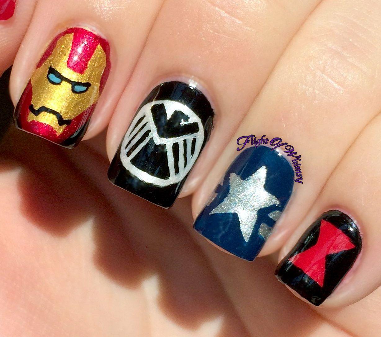 Avengers | Marvel nails, Toe nail designs and Disney nails
