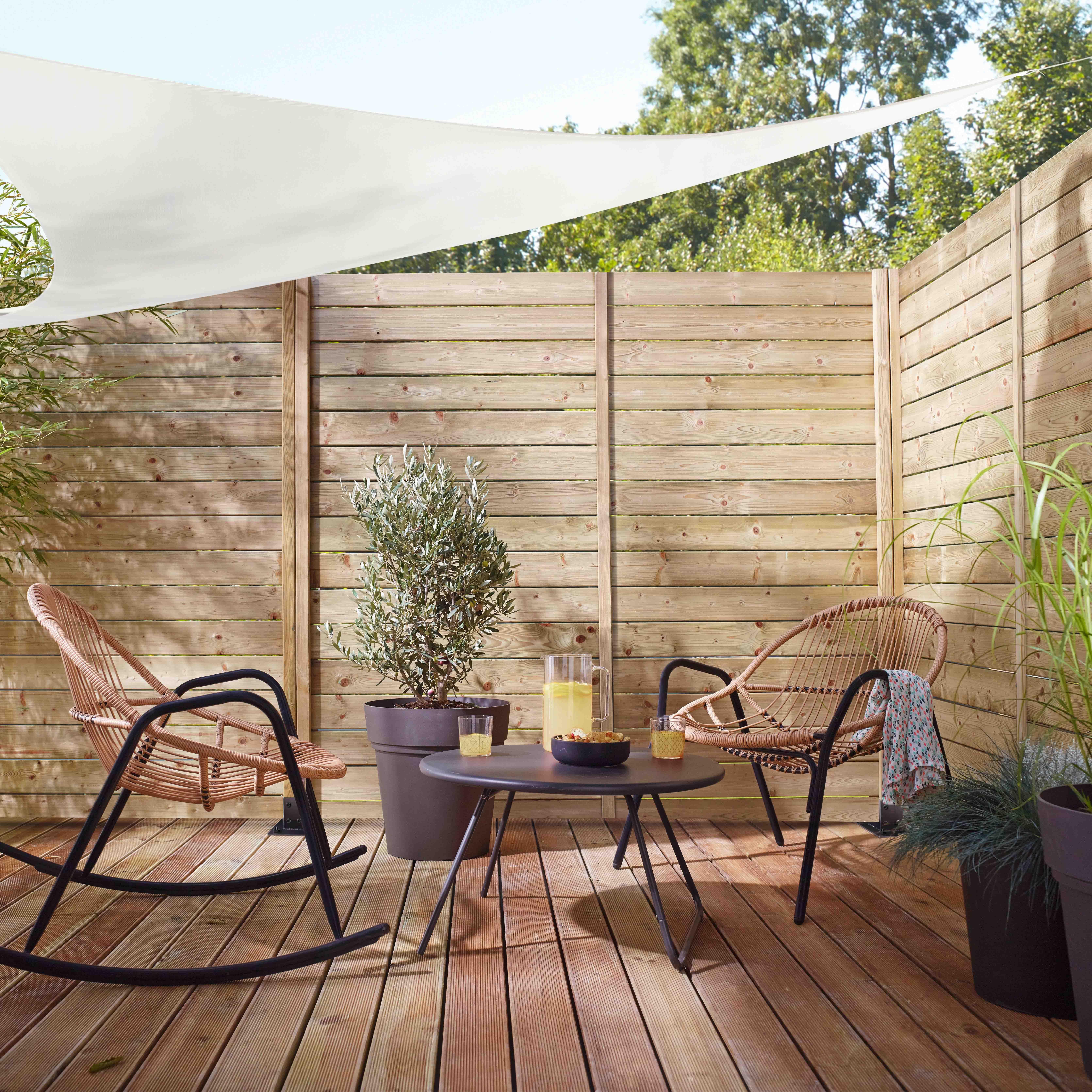 Castorama zoom sur les nouveaut s jardin 2016 home for Jardin al aire libre de madera deco