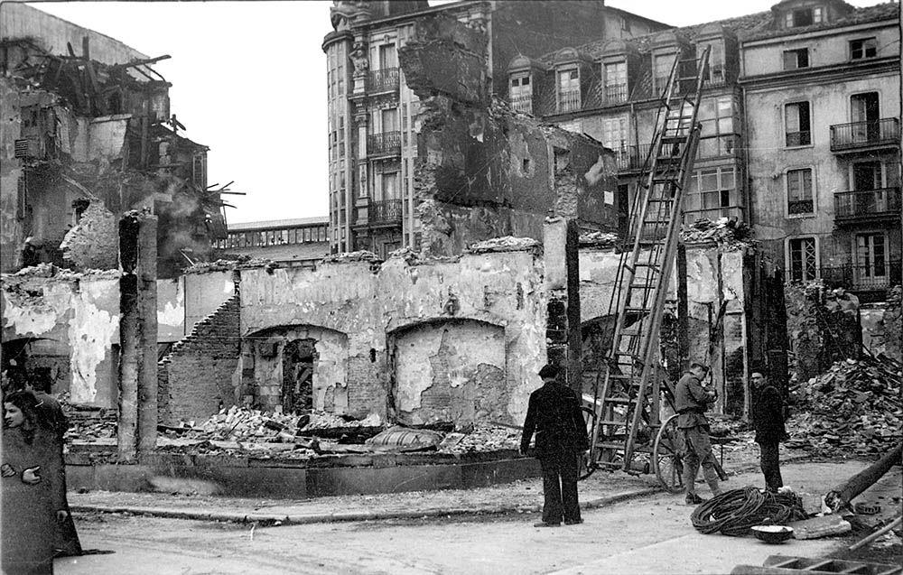Recorrido interactivo. 75 aniversario del incendio de Santander   75 aniversario del incendio de Santander