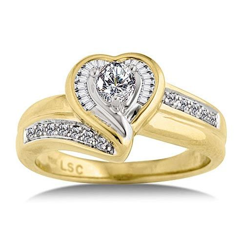Beautiful Wedding Ring Woman With Gold Diamond Engagement Rings