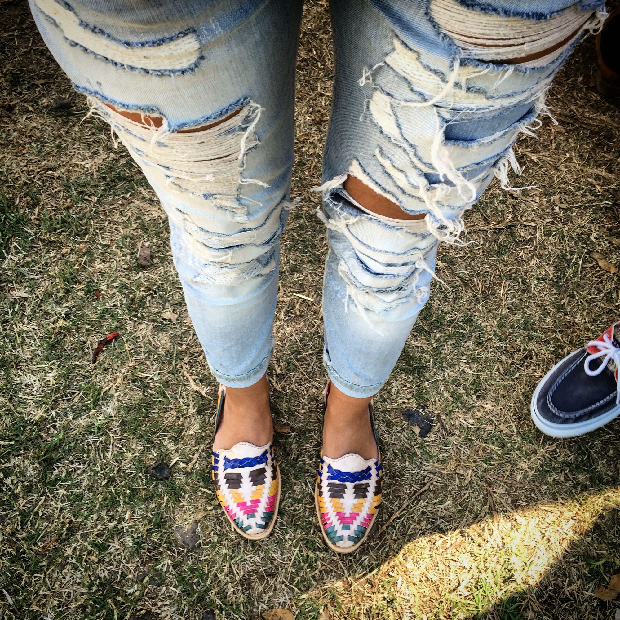 Resultado de imagen de huarache outfit mexican   Zapatos ...