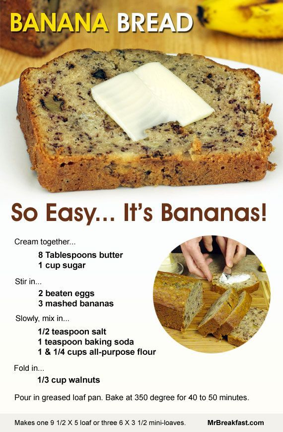 How To Make Banana Bread - just baked this today