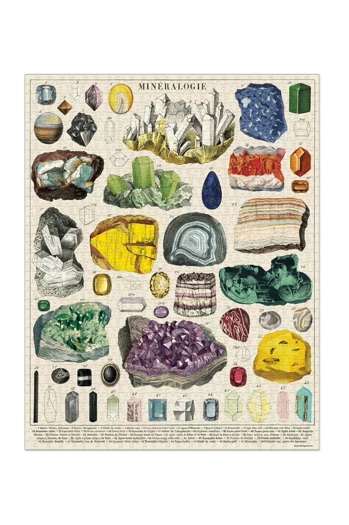 Reference Chart 1000 Piece Puzzle | Urban Outfitters