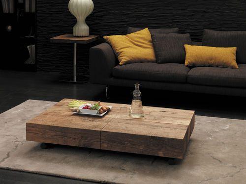 Tavolo moderno allungabile (altezza regolabile) Box Legno by Studio ...