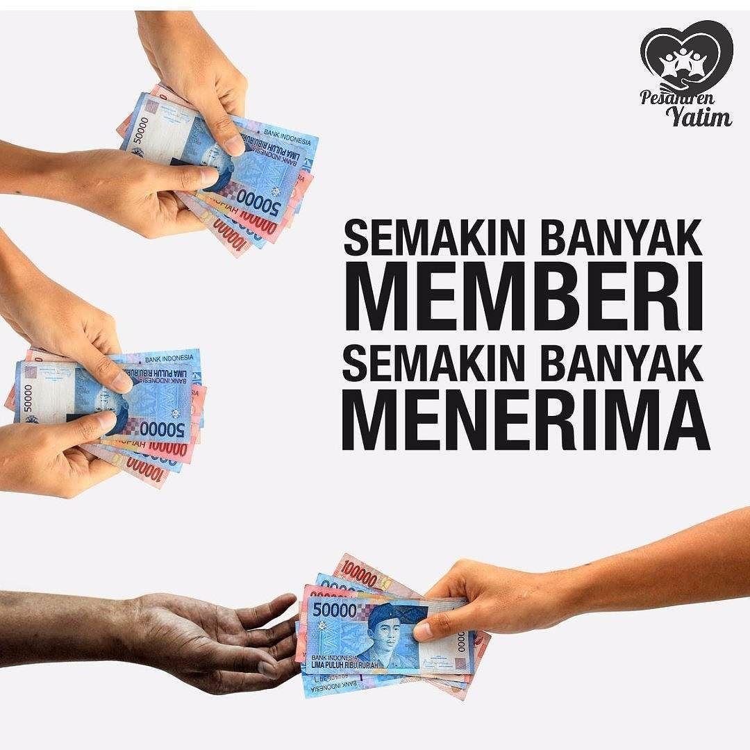 Semakin Banyak Memberi Semakin Banyak Menerima Infaq Melalui Rekening Bni Syariah A N Yayasan Quotes Monopoly Deal Convenience Store Products
