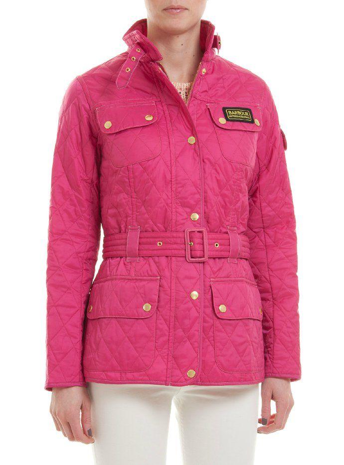 Bildresultat för barbour jacka rosa