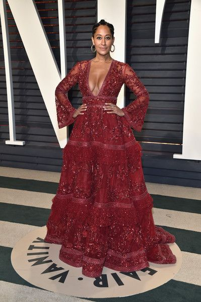 Tracee Ellis Ross in Zuhair Murad Couture - Every Look from the 2017 Oscars After-Parties You Can't Miss - Photos